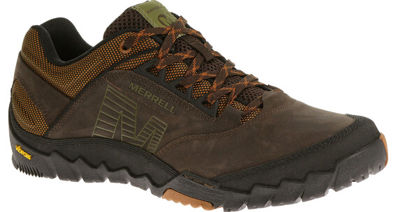 Merrell Annex Shoes Men Dark Earth